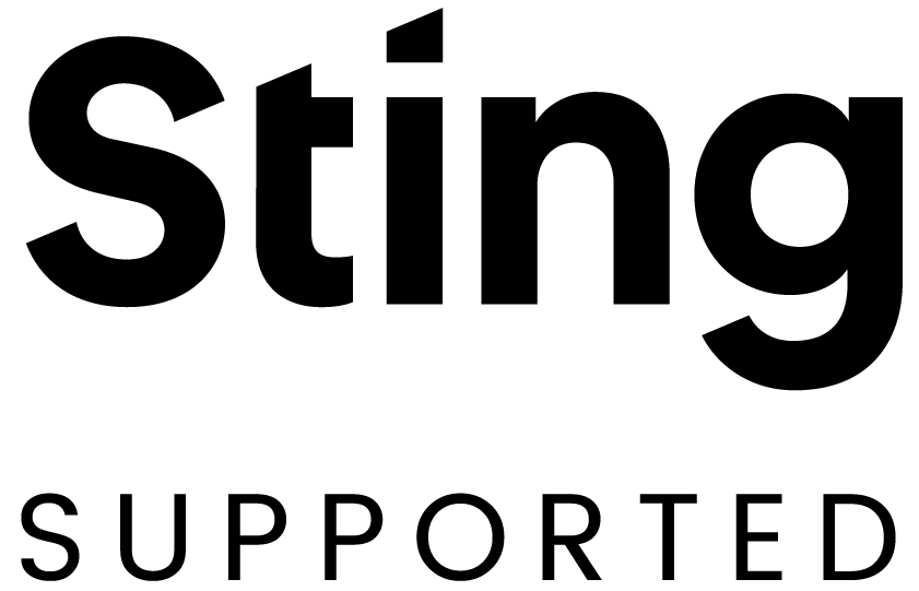 Sting supported
